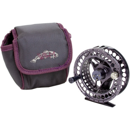 Flyfishing The Wright & McGill Fly Girl Damsel Fly Super Large Arbor Fly Reel might look like a beautifully designed piece of industrial art, it's actually a ultra-light, high-tech fly reel suited for lake, river, or stream fishing. - $113.97