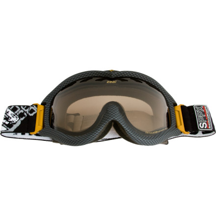 Ski Zeal has outdone itself with the Polarized-Photochromic Detonator SPPX Goggle. This miracle adjusts from 43% light transmission all the way down to 13% to match almost any condition the mountain can throw at you. A permanent no fog coating on the spherical lens ensures youll have acute visual performance for years to come. Xtreme Low Light is new Photochromic technology for 2010 which transitions from yellow to high contrast rose depending on the conditions. The Detonator also blocks out all of the suns harmful UV rays to prevent various forms of eye damage. Last but not least, polarization reduces glare, enhances vision, and reduces eye strain. - $69.98