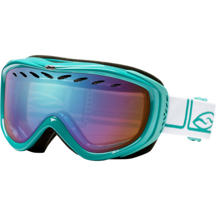 Snowboard A comfortable fit and amazing value combine to make the Smith Transit Pro Goggle a solid choice for any day on the mountain. Smiths Airflow ventilation uses vents on the dual lens to ensure foggy vision is a foreign concept. The helmet-compatible design also features an Articulating Outrigger system that evenly transmits pressure for a comfortable, full-seal fit. - $38.97