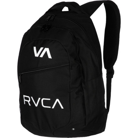 Camp and Hike The coolest thing about the RVCA RVCA Backpack is that when you ask someone 'have you seen my RVCA backpack' you will actually be calling it by its birth-name. Man, that is so neat. - $45.95
