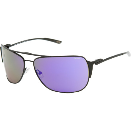 Camp and Hike The Smith Foley Sunglasses pick up where the best-selling Serpico left off. This metal-frame beauty gives the classic aviator shape a modern twist and tops it off with sleek toric lenses featuring Smiths TLT optics. - $59.48