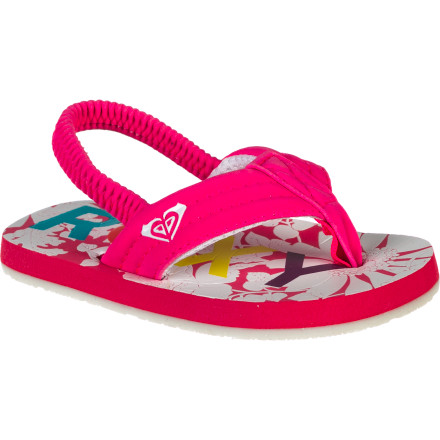 Surf Turn your little lady loose in the Roxy Girls' Low Tide Sandals. These comfy flip flops are great for summer strolls and beach parties with the fam. - $16.00