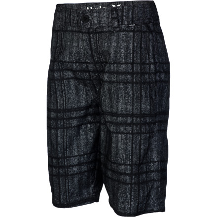 Surf You can't spend all your time in the water. That's why Hurley made the Mariner Intersect Boardwalk Short. Like you, it would rather be in the water, but it's also suited to life on land. - $35.96