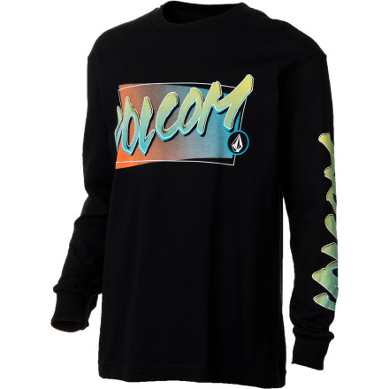 Surf Volcom V Core T-Shirt - Long-Sleeve - Boys' - $14.96