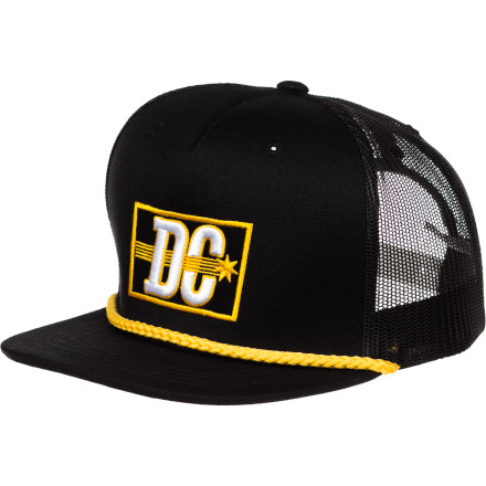 Skateboard DC Flasher Trucker Hat - Boys' - $16.58