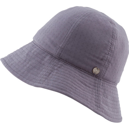 Forget the '70s, get really retro and start bringing back the '20s in the Coal Pattie Women's Hat. This classically-styled women's bucket hat will keep the sun off your head this summer while you party like Prohibition just ended. - $39.95