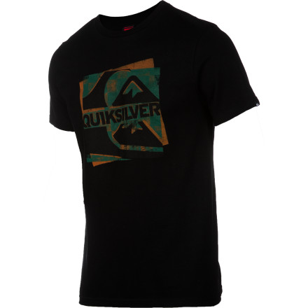 Surf Quiksilver Hide & Seek Heat Sensitive Ink T-Shirt - Short-Sleeve - Men's - $17.60