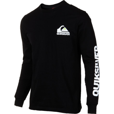 Surf Quiksilver Sweeper T-Shirt - Long-Sleeve - Men's - $22.50