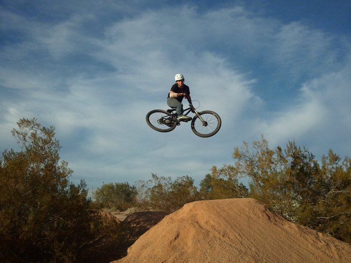 MTB Laying it out