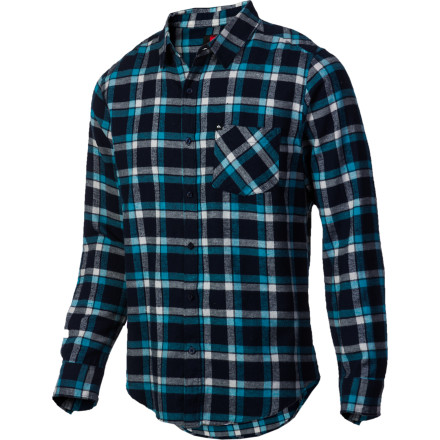Surf Quiksilver Dream Breaker Flannel Shirt - Long-Sleeve - Men's - $34.65