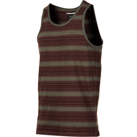Surf RVCA Shaman Tank Top - Men's - $22.07