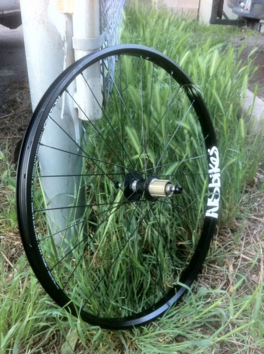 MTB Rear Wheel for the new frame