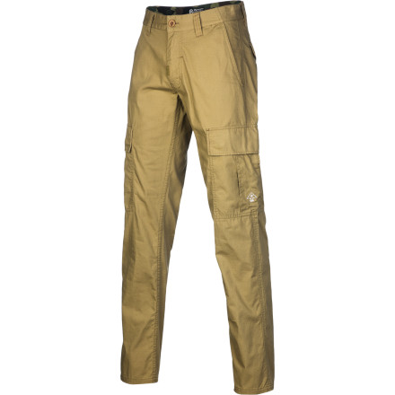 Entertainment Just because they're cargo pants, it doesn't mean they have to be ridiculously huge like the ones you wore back in the '90s. The LRG Core Collection TS Men's Cargo Pant features a true straight fit for a look that's a little more with the times. - $65.95