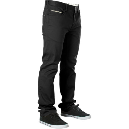 Skateboard Nobody is truly complete without one good set of jeans, but your street wardrobe isn't complete with the Vans Men's V56 Standard / Covina Pant. Classic five-pocket design with a little bit of stretch makes the V56 'standard' for your skate to work and head out for drinks when the light come on kinda life. - $41.62