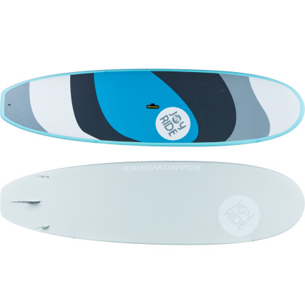 Wake The Boardworks Joyride Stand-Up Paddleboard is a pleasure to ride, whether you're a beginner just getting into SUPing, or an advanced paddler looking for something stable to do yoga on or take for relaxing cruises. It has a wide platform and thick foils to provide a super-stable feel, and the EVA foam deck is comfortable and grippy to keep you from slipping when it gets wet. - $1,058.95