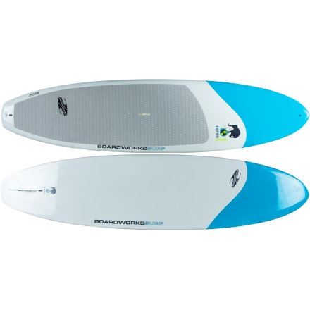 Wake The view from the middle of the lake is always better than from the shore. Get a different perspective of your favorite places from the water on the Boardworks SuperNatural Stand-Up Paddleboard. It's designed to provide a stable ride and effortless glide so you can spend less time focusing on paddling and keeping your balance, and more time enjoying the scenery. - $1,098.95