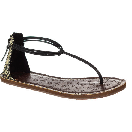Surf When you need something a little classier than your worn-out flip flops, but you still don't want to wear shoes, slip on the Roxy Tansania Women's Sandal and step out in comfort and style. - $31.20