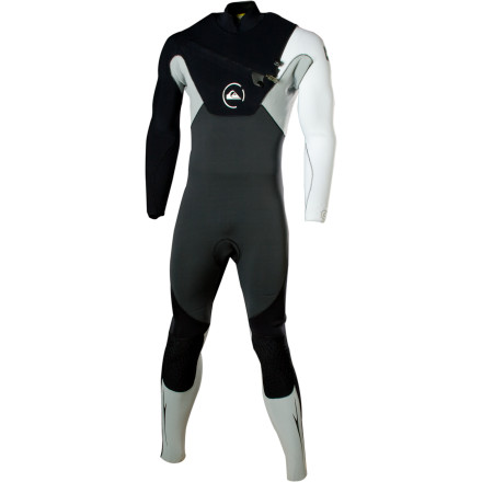 Surf All wetsuits are not created equal, and the Quiksilver Men's Cypher Series 3/2 Full Wetsuit stands alone amongst its peers with a similar price and style. Featuring a highly flexible neoprene shell, a stretchy lining made from recycled fleece, and extra-stretchy seam tape, here is one suit that definitely stands out in the crowd. - $216.97
