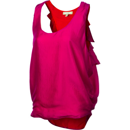 Surf If you're looking for something a little classier than your average tank top, look no further than the SUPERbrand Ruffle Women's Tank Top. - $49.95
