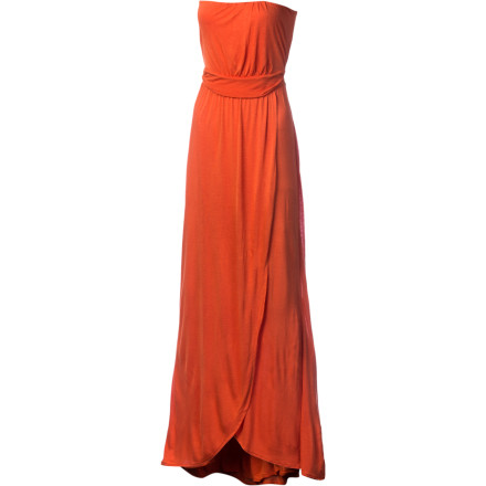 Entertainment After a long day at the beach, shower, and slip into the Quiksilver Women's Harbor Maxi Dress. This simple flowy dress wears well when you window shop, grab some ice cream, or attend a barbecue. - $68.00