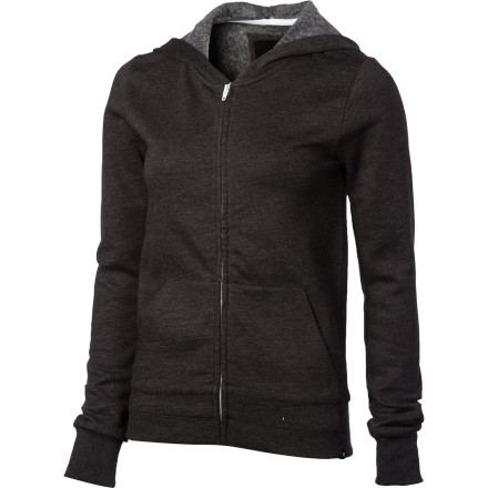 Surf Hurley Solid Slim Fleece Full-Zip Hoodie - Women's - $41.95