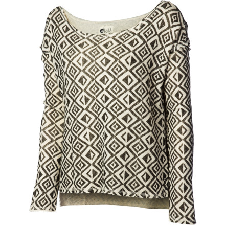 Surf Billabong Beach Or Bust Pullover Sweatshirt - Women's - $33.53
