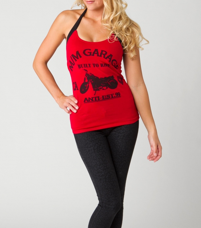 Motorsports Metal Mulisha Maidens top.  95% Cotton / 5% Elastane jersey. - $19.99