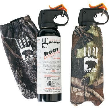 Hunting UDAP Bear Spray Two-Pack with Camo Holster   $49.99