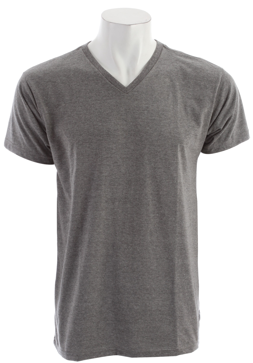Surf Key Features of the Billabong Essential V Neck T-Shirt: Regular fit v-neck with an essential woven label and pvc-free head sealed neck label 50% recycled polyester/50% organic cotton - $20.00
