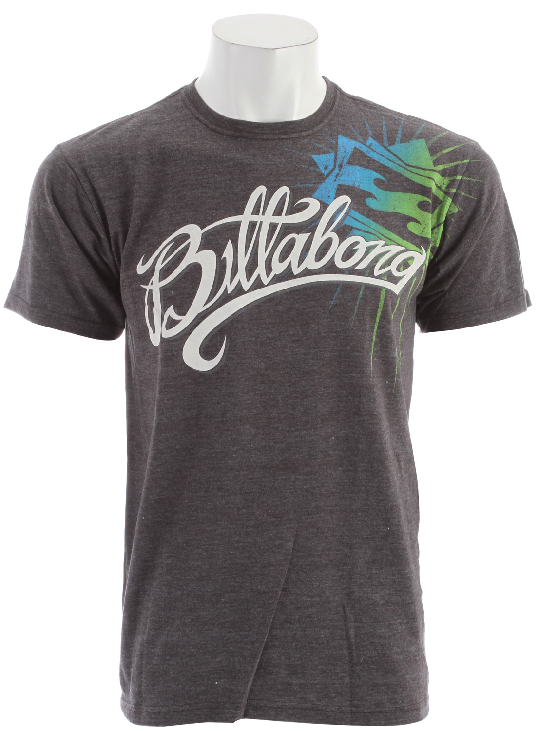 Surf Key Features of the Billabong Token T-Shirt: Regular fit tee with a softhand front screen print Sleeve clamp label and pvc-free heat sealed neck label 50% recycled polyester/50% organic cotton - $24.50