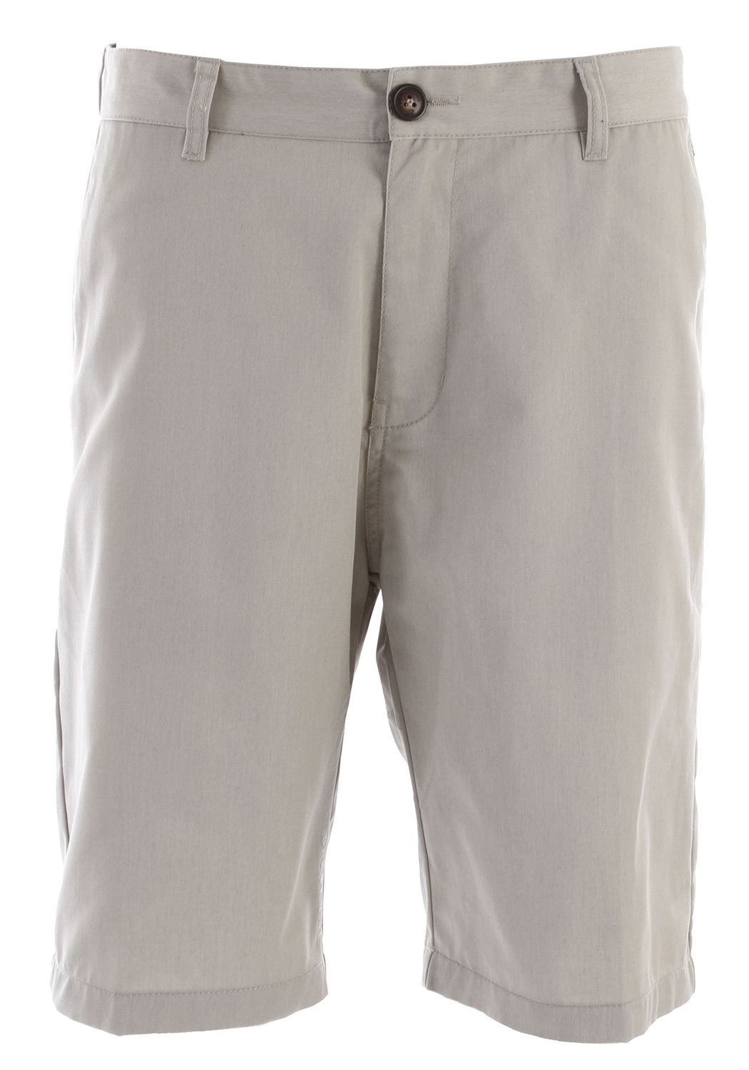 "Surf Key Features of the Billabong Carter Shorts: 22"" Core Fit Workwear chino styling Welt back pockets Sleek cell phone pocket at the side seam Woven work wear patch at the back hip 65% polyester/35% cotton - $29.95"