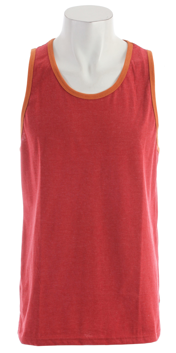 Surf Key Features of the Billabong Essential Tank: Ringer tank top with an essential woven label and pvc-free heat sealed neck label 50% recycled polyester/50% organic cotton - $13.95