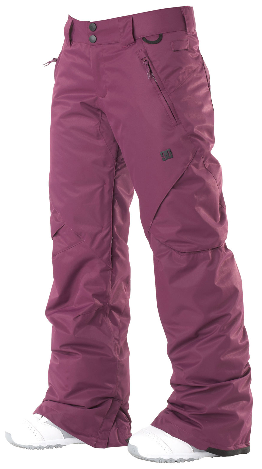 Snowboard With subtle cargo pockets, clean yet modern design, the ace pant is filled with all of dc's standard features. The added insulation will keep you warm in the coldest of climates. Available in both standard and tailored fits.Key Features of the DC Ace Snowboard Pants: 5,000mm waterproof 5,000g breathability Fit: standard 100% polyester micro twill midweight Critically taped seams 40g polyinsulation Taffeta lining Mesh lined venting Shant control Boot gaiter Snapped hem boot gusset Lift pass hook - $83.95