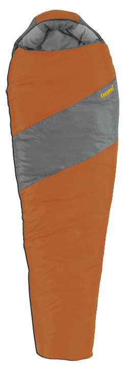 "Camp and Hike A comfortable, thermally efficient mummy bag for all-around use.Key Features of the Eureka Wild Basin 0 4 Season Sleeping Bag: Temp Rating 0 degreeF / -18 degreeC Style Mummy Size 84""x32""x20"" Insulation Eureka! ThermaShield synthetic insulation Fill Weight 3lb 8oz Carry Weight 4lb 13oz Shell Fabrics Durable 75D / 210T Polyester Ripstop 68D / 190T Polyester Taffeta combination shell Lining Fabric ""Warm to Touch"" 68D / 190T Peached Polyester lining Hood Adjustable hood with draw cord face closure Pillow Pocket Soft and comfortable fleece pillow pocket Draft Collar Draw cord top closure traps heat inside the bag Internal Pocket Internal, ergonomic pocket with hook/loop closure External Pocket N/A Stuff Sack Type Space saving, 4-way, compression stuff sack Stuff Sack Size 10.5"" x 19"" Zipper # 5, locking, mateable, 2-way zipper Zipper Side Right Logo Embroidered logo Double layer insulation with full cover shell construction  3D anatomical footbox Fully insulated zipper draft tube - $65.95"