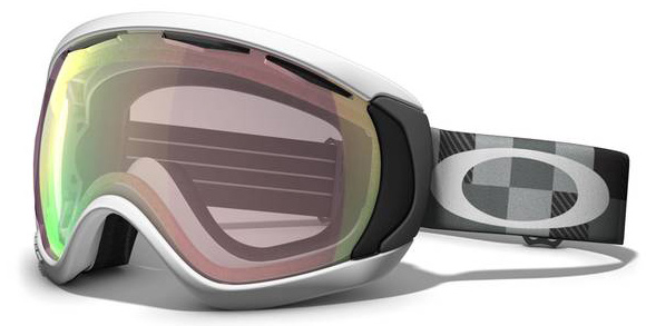 Snowboard Oversize your field of view without compromising fit.Key Features of the Oakley Canopy Snowboard Goggles: Large Lens Design That Expands Peripheral View In Every Direction Oakley's Patented O-Flow Arch Allows For Easy Breathing And Unrestricted Airflow Streamlined Frame Design Provides Full Helmet Compatibility Dual Vented Lenses With F3 Anti-Fog Coating Medium To Large fit - $119.95