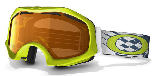 Snowboard High-performance style that fits comfortably over prescription eyewear Key Features of the Oakley Catapult Snowboard Goggles: Flexible O Matter Chassis Conforms To Your Face O Matter Strap Clips Provide Balanced fit With Or Without A Helmet All-Day Comfort Of Moisture Wicking Triple-Layer Polar Fleece foam Designed To Fit Over Most Prescription Eyewear Dual-Vented Lenses With F2 Anti-Fog coating Optimized To Fit Most Faces - $45.95