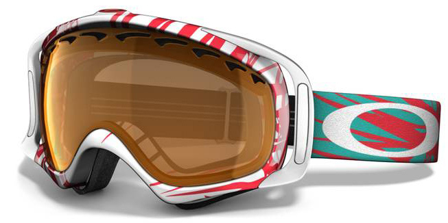 Snowboard A versatile goggle with clean style and a comfortable fit. Key Features of the Oakley Crowbar Snowboard Goggles: Streamlined Frame Design For Expanded Peripheral Vision Flexible O Matter Chassis Conforms To Your Face Rigid O Matter Strap Outriggers Provide A Balanced Fit With Or Without A Helmet Triple Layer Fleece Face Foam To Enhance Comfort And Seal Out The Elements Dual Vented Lenses With F3 Anti Fog Coating Medium fit - $104.95