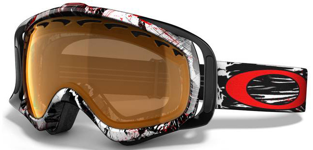 Snowboard A versatile goggle with clean style and a comfortable fit. Key Features of the Oakley Crowbar Snowboard Goggles: Streamlined Frame Design For Expanded Peripheral Vision Flexible O Matter Chassis Conforms To Your Face Rigid O Matter Strap Outriggers Provide A Balanced Fit With Or Without A Helmet Triple Layer Fleece Face Foam To Enhance Comfort And Seal Out The Elements Dual Vented Lenses With F3 Anti Fog Coating Medium fit - $89.95