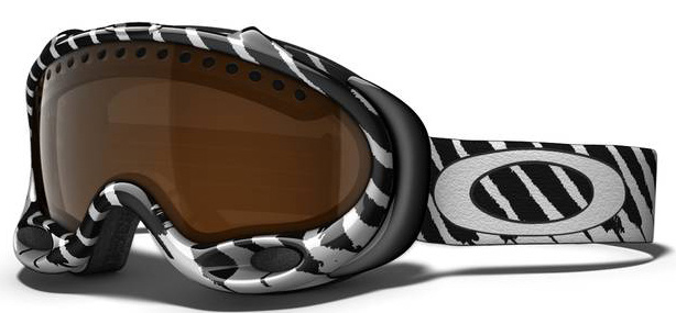 Snowboard Legendary performance in an iconic design. Key Features of the Oakley A Frame Snowboard Goggles: Dual Surge Port Frame Vents For Improved Air Circulation Articulating O Matter Strap Outriggers Optimize Fit With Or Without A Helmet Flexible O Matter Chassis Conforms To Your Face All Day Comfort Of Moisture Wicking Triple Layer Polar Fleece Foam Dual Vented Lenses With F3 Anti Fog Coating Small To Medium fit - $90.95