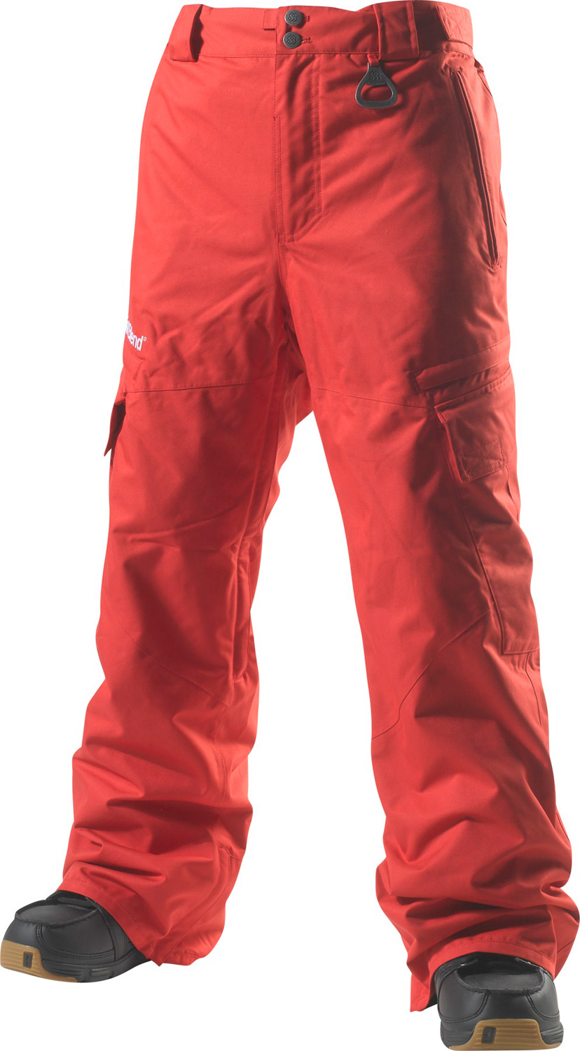 Snowboard Key Features of the Special Blend Annex Snowboard Pants: 15,000mm Waterproof 10,000g Breathability Freedom Fit Pant Shell Fabric Poly Oxford (Solid) / Poly Ripstop (Print) / Nylon Tactel (Colorblock) Lining Printed/Embossed Nylon Taffeta, Stretch Closed Cell Mesh, Brushed Tricot, Open Cell Mesh, Lycra Fully Taped Seams Removable Sag-Proof Gaiter Bottle Opener Ticket Ring Gusseted Multi Utility Pockets Inseam & Outseam Vents Pop And Lock Hem Adjuster - $93.56