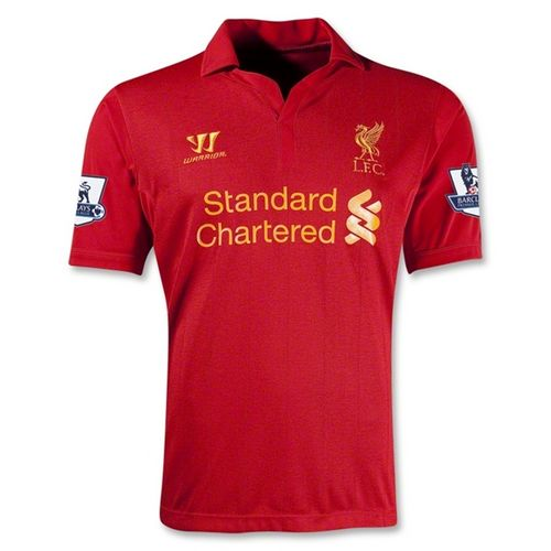 Entertainment Youth Liverpool Home Soccer Jersey 12/13