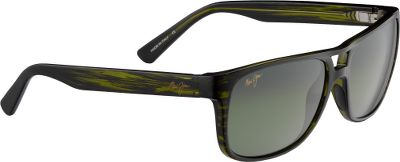 Entertainment Midsize Maui Jim Waterways Polarized Sunglass frames complement Maui Jims full-frame nylon collection. PolarizedPlus2 lenses block 99.9% of glare and 100% of UV rays. High-performance Maui HT lenses let in most usable light and are perfect for variable and low-light conditions. Made of ST (Super Thin) Glass, these lenses are 20% thinner and lighter than conventional laminated polarized lenses and are extremely scratch- and impact-resistant. High-grade nylon frame is light and durable. Anti-corrosive spring hinges. Includes hard case cleaning cloth pouch. The Skin Cancer Foundation recommends this product as an effective UV filter for the eyes and surrounding skin. Gender: Unisex. Material: Nylon. Type: Polarized. - $219.00