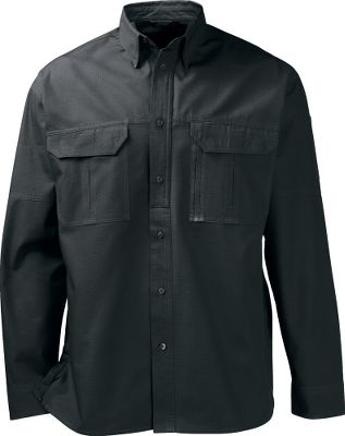 Hunting Ample pockets, freedom of movement and durable construction. Built for tactical shooters who require quick access to their gear, our comfortable and functional, vented tactical long-sleeve shirts are ready for the range or competition. Outfitted with pen pockets on sleeve for easily updating your score at the range, and a concealed, zippered chest pocket. Shirts boast faux buttons for quick opening. Concealed breakaway snaps in the split hem offer quick access to a belt holster. Polyester mesh allows air to circulate. Hook-and-loop chest pockets. Hidden-snap, button-down collar. 65/35 polyester/cotton poplin. Machine washable. Imported. Sizes: M-2XL. Colors: Black, Field Khaki, Mushroom. Size: MEDIUM. Color: Mushroom. Gender: Male. Age Group: Adult. Material: Polyester. Type: Long-Sleeve Shirts. - $44.99