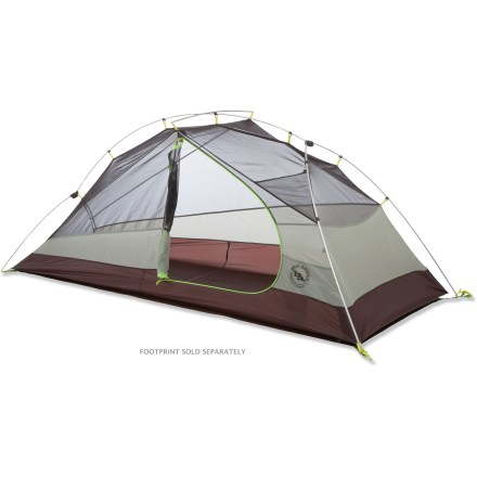 Camp and Hike Spacious and lightweight, the Big Agnes Jack Rabbit SL1 tent is a well-built 3-season backpacking tent designed for 1. Roominess around the head and shoulders provides comfortable living. - $209.93