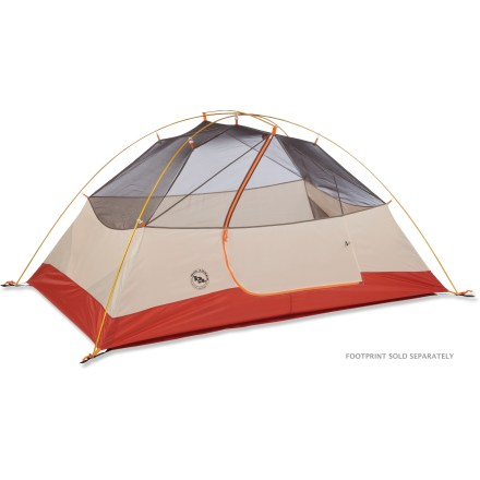 Camp and Hike The Big Agnes Lone Spring 2 tent is designed with weekend warriors, cash-strapped college kids and camping with families in mind. This durable tent doesn't sacrifice quality or versatility. - $169.93