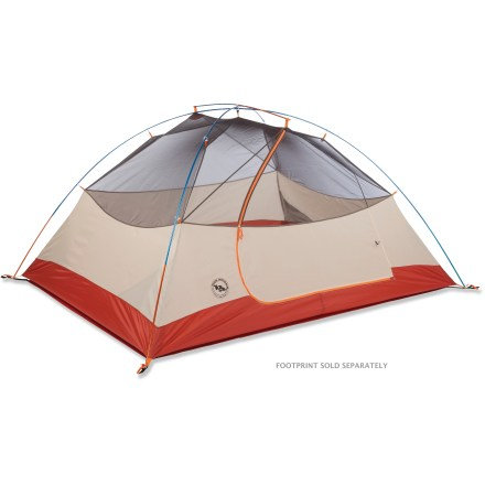 Camp and Hike The Big Agnes Lone Spring 3 tent is designed with weekend warriors, cash-strapped college kids and camping with families in mind. This durable tent doesn't sacrifice quality or versatility. - $199.93
