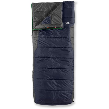 Camp and Hike This warm, synthetic-insulation sleeping bag provides lightweight performance and roomy comfort for your 3-season camping adventures. - $87.93