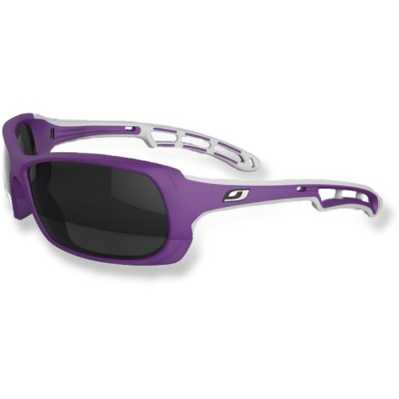 Camp and Hike The women's Julbo Swell polarized sunglasses help keep your eyes protected from the sun's rays while spending the day on the water. - $120.00