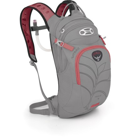 Fitness If you're going to be out riding between 1.5 and 3 hours, or just want some extra gear capacity, the women's Osprey Verve 9 hydration pack stows your essentials and 3 liters of liquid. - $84.93