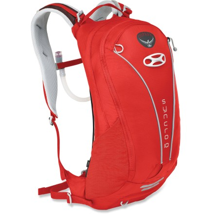 Fitness Carry your riding essentials in well-ventilated comfort with the Osprey Syncro 10 hydration pack, which boasts a 100 fl. oz. reservoir and easy gear organization for multiple-hour riding adventures. - $65.93